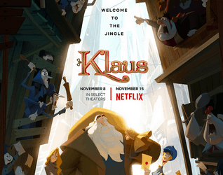 "Netflix's ""Klaus"" will Delight, Confound & Tickle"